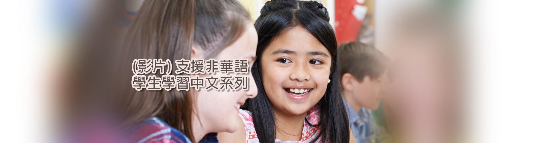 支援非華語學生學習中文系列