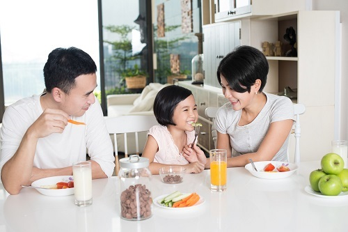 同桌共享親子樂‧子女生活更滿足